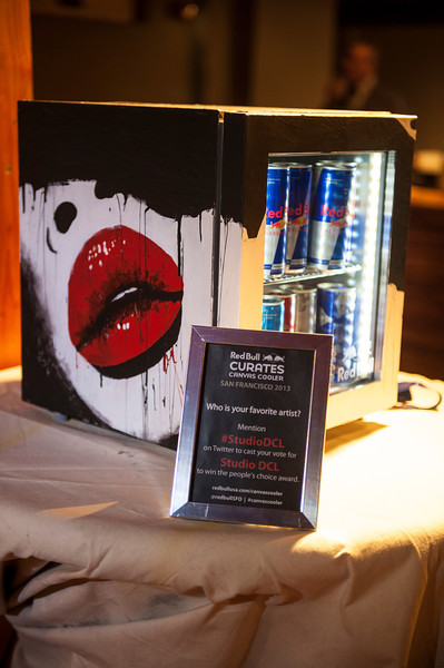 Displaying of the finish coolers by each artist and announcement of 2 winners at Public Works on 27/01/13