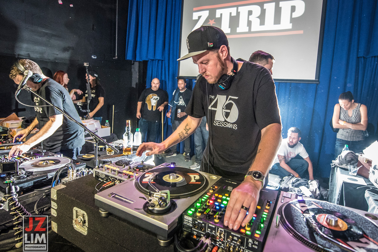 The 45 Sessions + DJ Z-TRIP