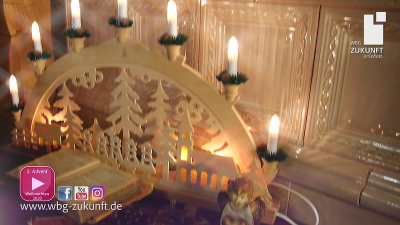 2. Advent 2020 mit Bauchredner ROY REINKER und BABY für die WBG Zukunft eG - Karrideo Image- und Eventfilmproduktion