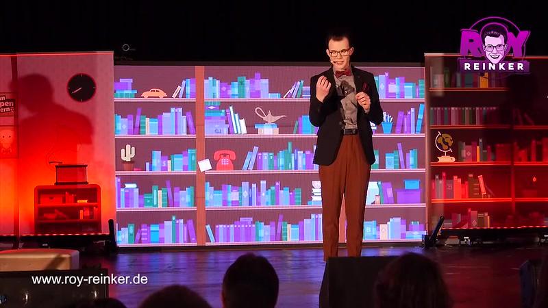 Bauchredner Roy Reinker - neue Show: Wenn Puppen feiern, kann es nur im Chaos enden. Video von Karrideo Imagefilm ©®™