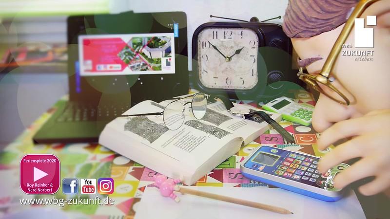 """""""Nerd Norbert schreibt seine erste Postkarte"""" - Sommerferien 2020 mit Bauchredner Roy Reinker und der WBG Zukunft eG - Karrideo Imagefilm-Produktion©®"""