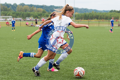 Missouri Rush Select 02-03 Girls Finish 5-1 in MRL soccer