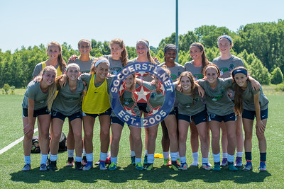 SLSG Missouri 2001 ECNL Girls Prepare for Nationals