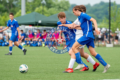 Lou Fusz Carotenuto Red open big at State Cup