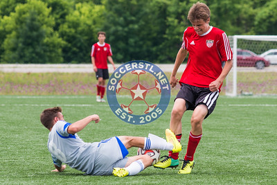 Kutis Academy Gold 97-98 win U16 Boys State Title vs Missouri Rush Select at Lou Fusz soccer complex.