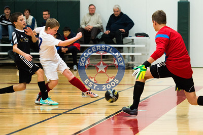 Gateway Futsal League Play between AC Porta Via and WC St Louis