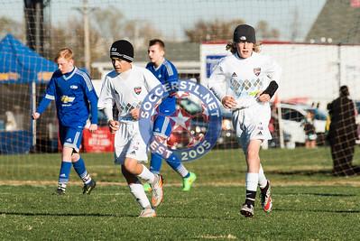 Sporting STL U15 Boys Win in PK's at Rush Showcase