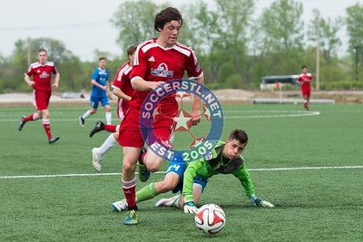 MRL U14B soccer action in St. Louis