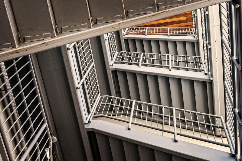 Parking Garage Stairs