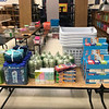 Supplies for the family care packages