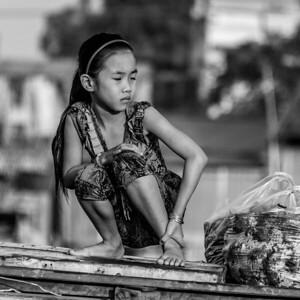 Life on the Mekong River Vietnam