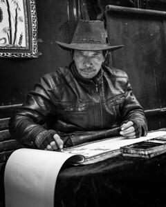 Street Artist in Zibo China