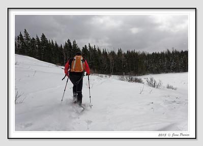 2015-03-04 Raquette belvédère Mont Ste-Anne