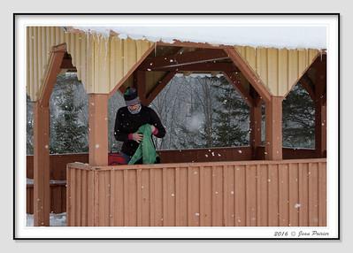 2016-02-24 Raquette Le Montagnard Vallée Bras du Nord
