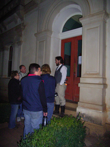 Ghost tour of the old Beechworth asylum