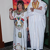 Jenny & Bruce Gray at the fancy dress night