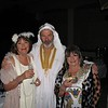Gail Collins with Bruce & Jenny Gray at the fancy dress night