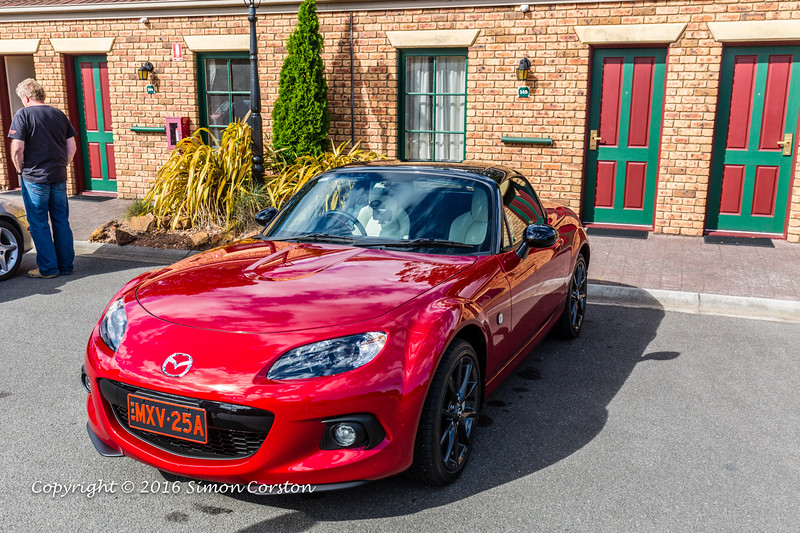 MX-5 Cleaning Day Pre-Concours