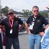Vic-Tas members Joan Read, Dot Manion, President Peter Dannock, life member Coral Campbell