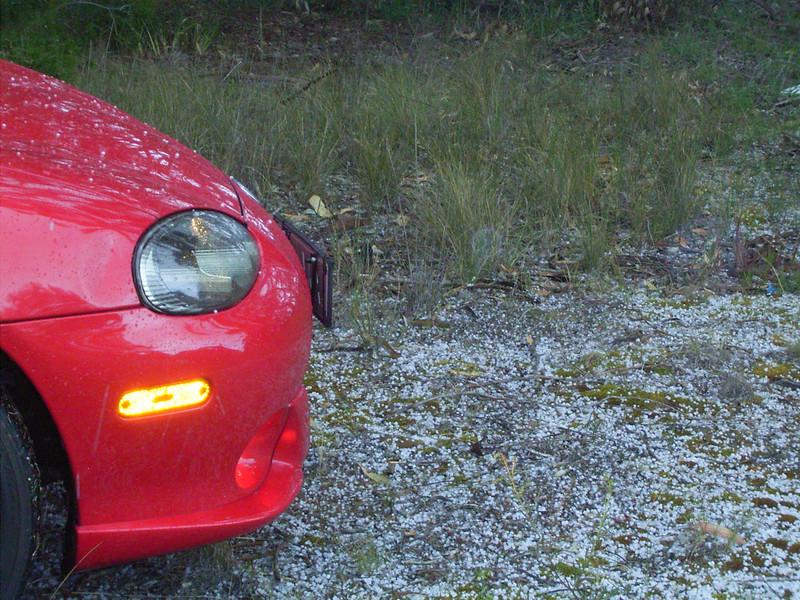 It's hailing .. i!!