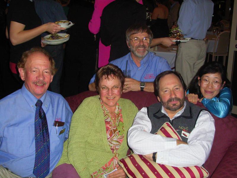 Tyrone, Pam, Bill, Grant & Saeko