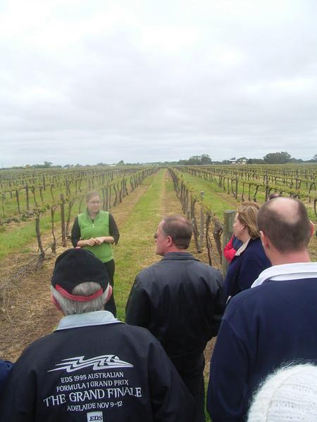 Winery tour @ Coonawarra