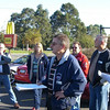 Jeff addressing the troops at Berwick Maccas