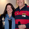20-year membership pin recipient, Alyssa Finlay, with life member Murray Finlay