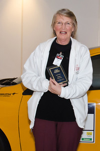 Outstanding Service award for North-Eastern Victoria Chapter, Marg Gillick