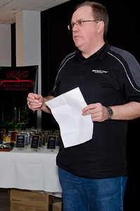Mazda Australia MD Martin Benders addresses the gathering