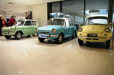Some of Mazda's museum collection