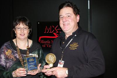 Karen Bradshaw with Jeff Woolf