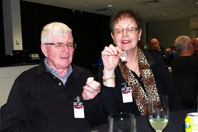 John & Noellene Gleeson with their 5-year pins