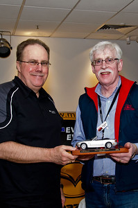 Martin Benders (left) with Dave Collins