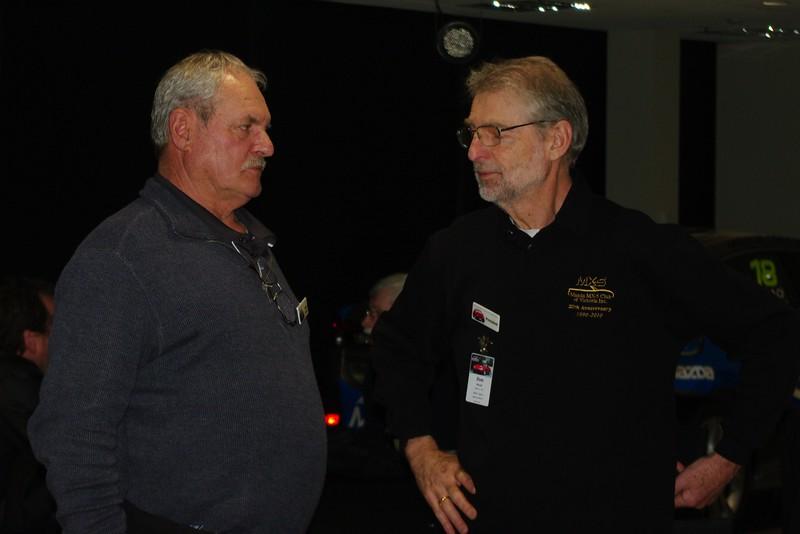 Alan Everett (Western Vic) with Club President Don Nicoll