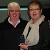 Noellene Gleeson receives her Western Victoria Chapter Champion award from John Gleeson