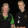 Ian Bradshaw (Western Vic) with Club President Don Nicoll
