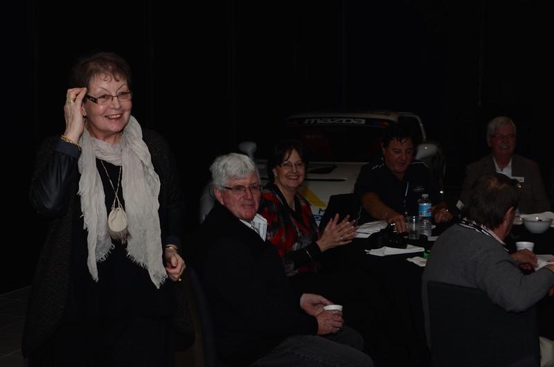 (l-r) Noelleen & John Gleeson, Karen & Ian Bradshaw, Jeff Woolf and Gerry Engwerda