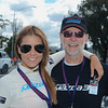 Mazda3 ambassador Lauren Phillips with Don Nicoll