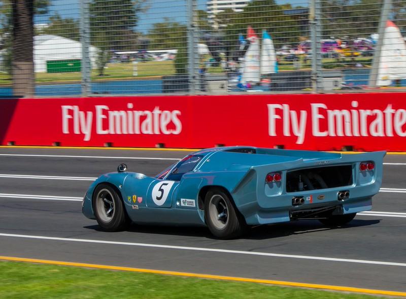 A classic Ferrari