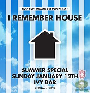 I Remember House Summer Jan 2014