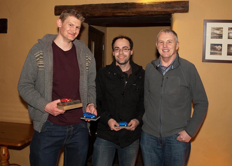 <b>Nakdoth Trophy - April 12 car</b> Winners: <i>Dan Haynes & Pete Johnson</i>