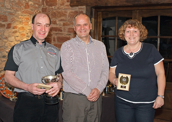Pathfinders Trophy - <i> Geoffrey Harkness and Yvonne Petry </i>