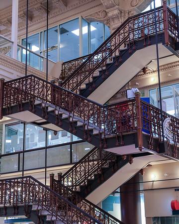 Bourse Building--Stairway