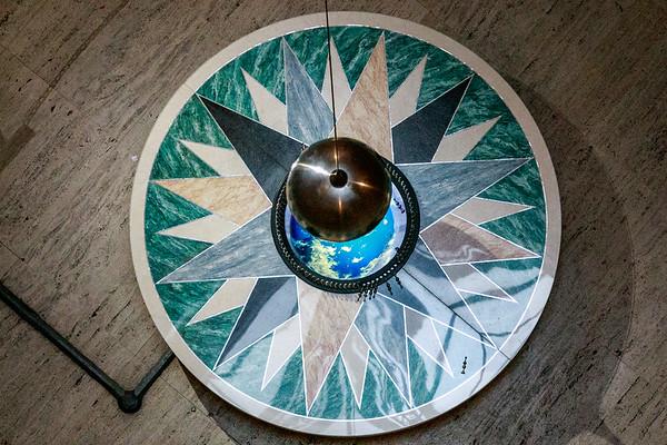 JDonato_Franklin Institute_Focaults Pendulum