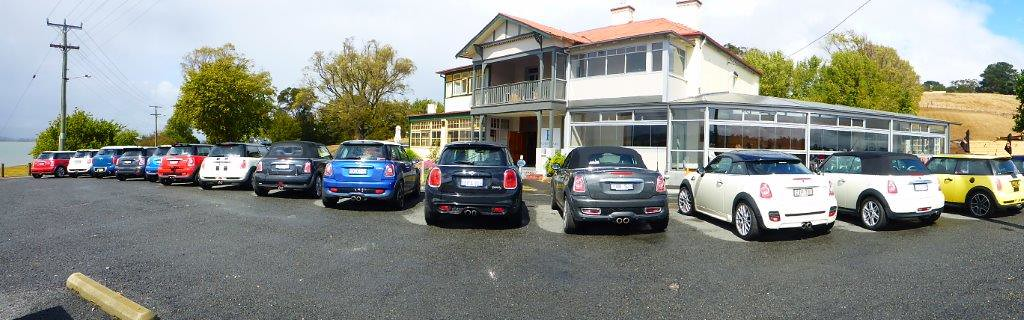 P1000706  - MINI Collection at Rosevears Waterfront Tavern, TAS
