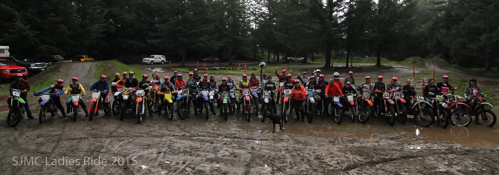 Ladies Ride 2015