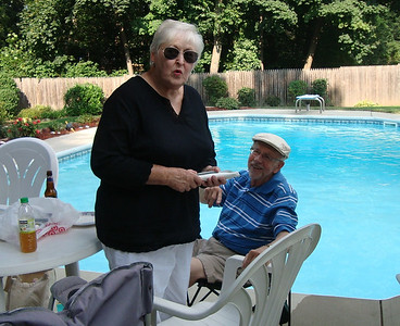 Mary and Fred Snider were active member who joined us to meet with former acquaintances. Glad that you came.