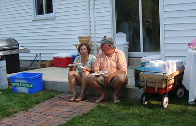 Susan Marsh our host and Randy who worked over the hot grill. Bacuase of them our picnic was a great success.