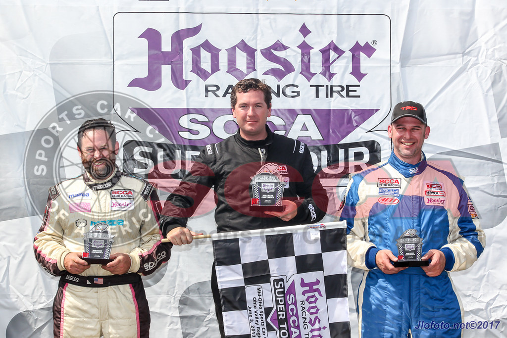 AUTO: June 03, Hoosier Racing Tire SCCA Super Tour at Mid-Ohio Sports Car Course Saturday